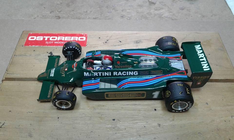 Ostorero la Lotus Ford 79 Team Lotus Martini Racing