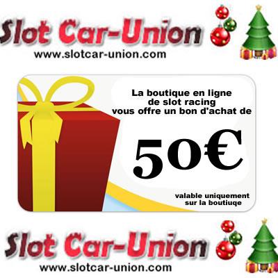 Slot Car Union Bon d'achat de 50€