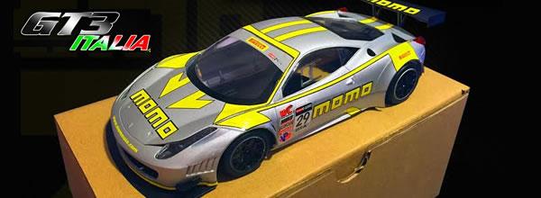 Black Arrow: Une GT3 Italia MOMO arrive sur les circuits routiers électriques