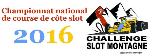 Association Slot Montagne: Un championnat national de course de côte slot en 2016
