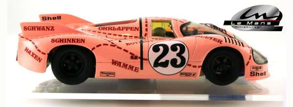 le mans miniatures la porsche 917 20 cochon rose slot cars passion. Black Bedroom Furniture Sets. Home Design Ideas
