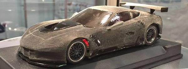 NSR Slot: Le moule de la Corvette C7R GT3 photographié