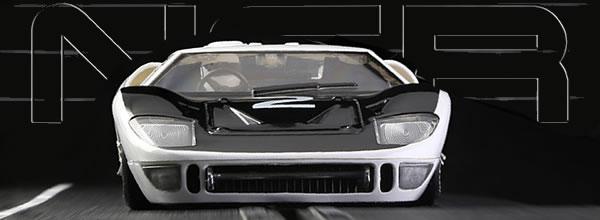 NSR : la Ford GT40 Ford MK II GT40 - Le Mans Test 1966 #2