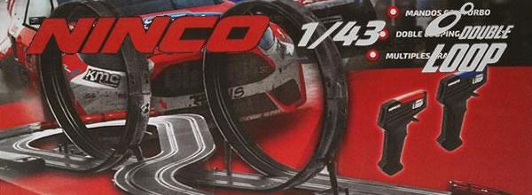Ninco: Bientot des coffrets de slot racing à l'échelle 1/43