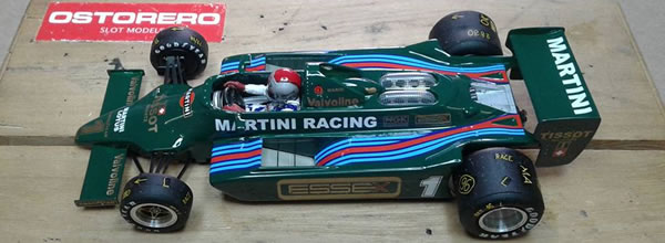 Ostorero la Lotus Ford 79 Team Lotus Martini Racing Mario Andretti Italian GP