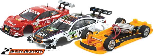 Scaleauto: Châssis 3DP pour BMW M4 DTM et Audi A5 DTM Carrera