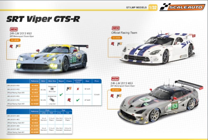 Scaleauto La Viper GTS-R SRT