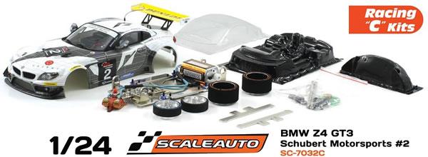 """Scaleauto: des Kits Racing """"C"""" à l'échelle 1/24 pour le slot"""