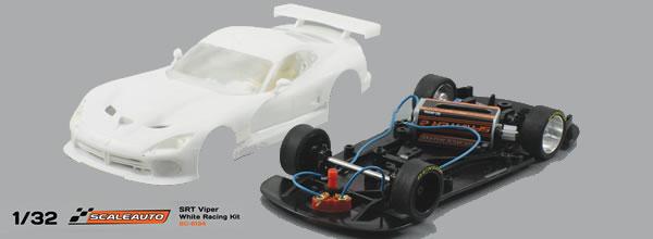 Scaleauto: le chassis R-Version pour la SRT VIPER GTS-R et la Porsche 991 Gt3