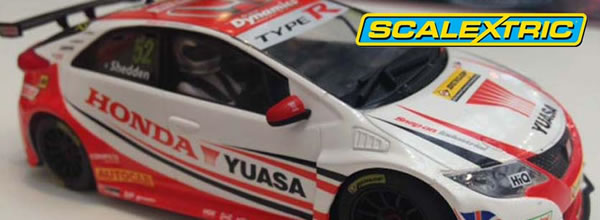 Scalextric: La Honda Civic Type R Gordon Shedden BTCC