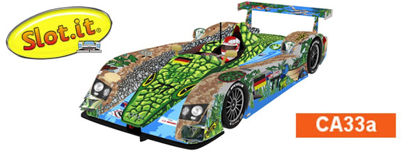 Slot it Audi R8 LMP #77 1st Race of a Thousand Years  CA33a