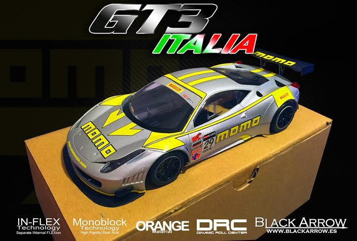 Black Arrow: Une GT3 Italia MOMO