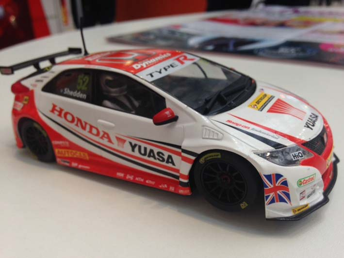 Scalextric: La Honda Civic Type R Gordon Shedden BTCC (C3783)