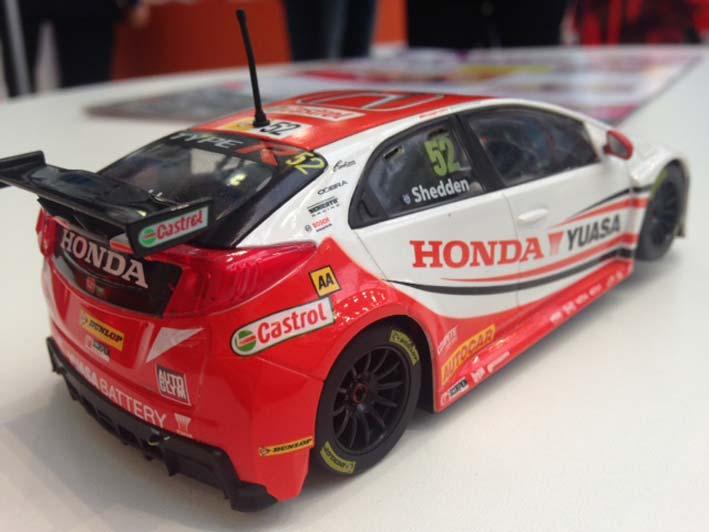Scalextric: La Honda Civic Type R Gordon Shedden BTCC (C3783)