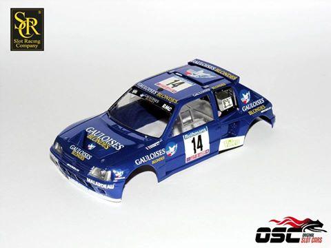SRC-OSC: La Peugeot 205 T16 #14 Gauloises Tour de Corse 1985