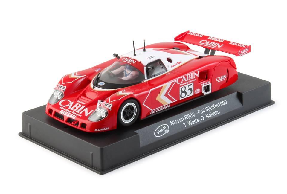 Slot. it: La Nissan R89C n.85 AJSPC Suzuka 500Km 1990