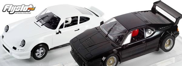 FlySlot: Une BMW M1 et une Porsche 911 prêtent pour la compétion