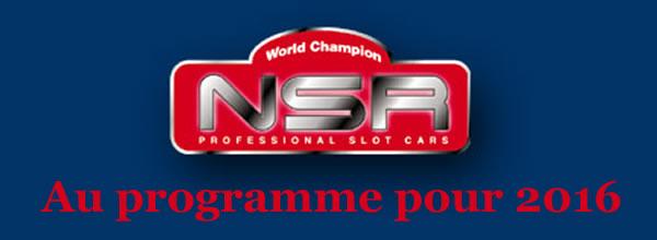 NSR Slot: le programme des sorties Slot pour 2016