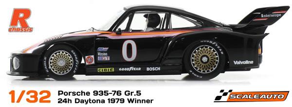 Scaleauto: la Porsche 935-76 Daytona 79 Homeseries