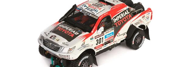 Slot Art: Le Toyota Hilux du Dakar 2013