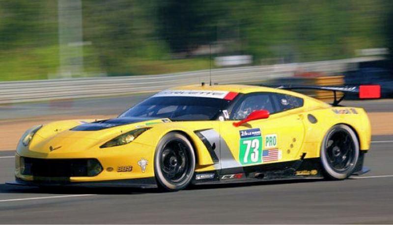 0025AW Corvette C7R 24h Le Mans 2014 #73 AW King EVO3