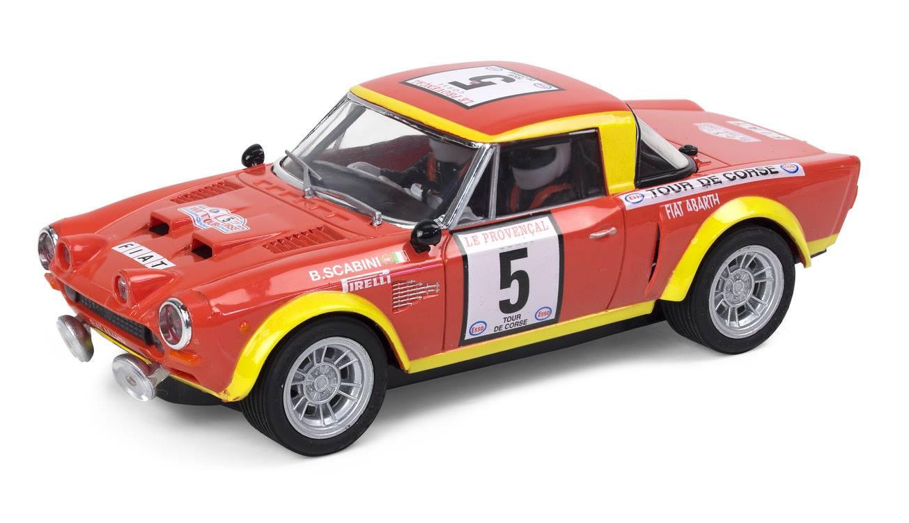 Scalextric Fiat 124 Spider Tour de Corse 1974