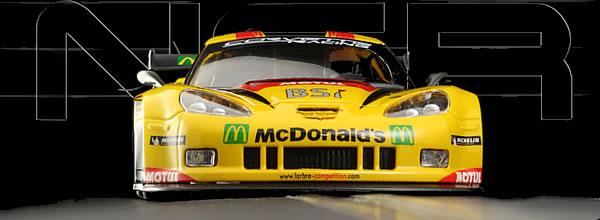 NSR: La Corvette C6R Labre Competition avant la Corvette C7R