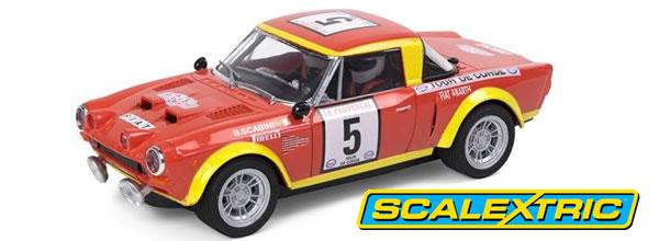 Scalextric: La Fiat 124 Spider Tour de Corse 1974