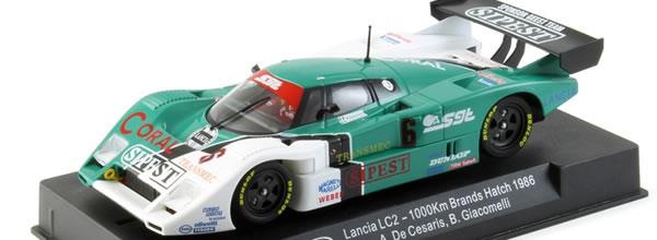 Slot it: Nouvelle Lancia LC2-85 et des moteurs plus puissants pour les Gr C.