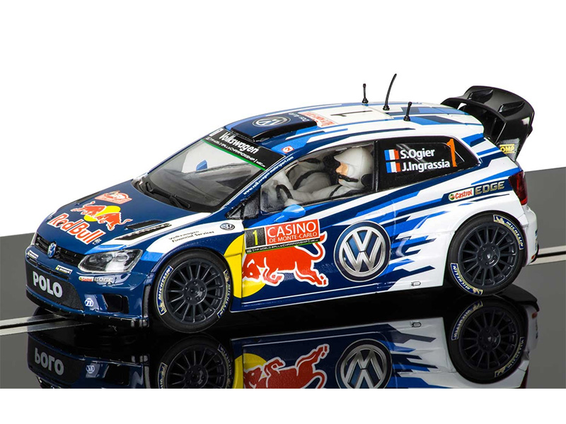 Volkswagen Polo WRC Rallye Monte Carlo 2015 - Sébastien Ogier & Julien Ingrassia – Ref: C3744