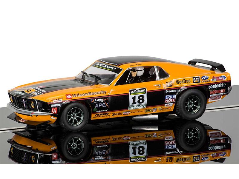 Ford Mustang Boss 302 1969 - Driver: John Bowe - TCM 2011 Historic - No: 18 - Ref C3671