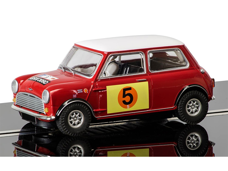 Mini Cooper S - RAC Rally 1966 – Pilotes Graham Hill&Maxwell Boyd – Ref C3747
