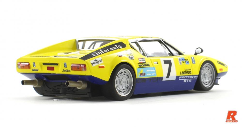 Scaleauto: la De Tomaso Pantera Gr.3 #7 Le Mans 1975