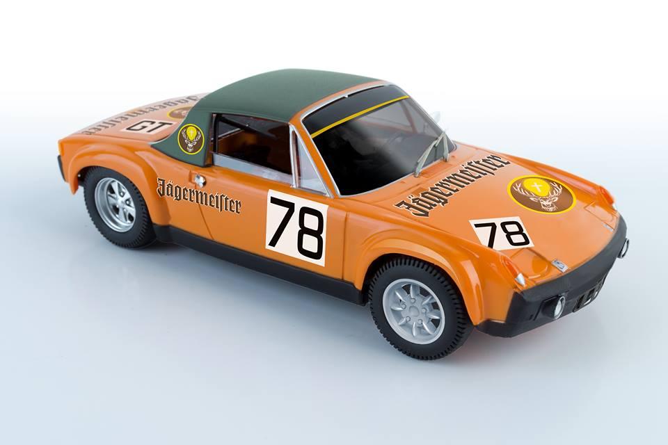 SRC-REF: 01610 - Jagermeister Porsche 914/6 GT 1000 kms. Nurburgring 1972
