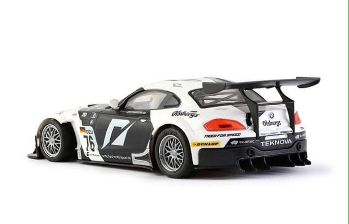 NSR BMW Z4 BLACK / WHITE #76 FIA GT3 EUROPEAN CHAMPIONSHIP 2010 AW KING EVO 3