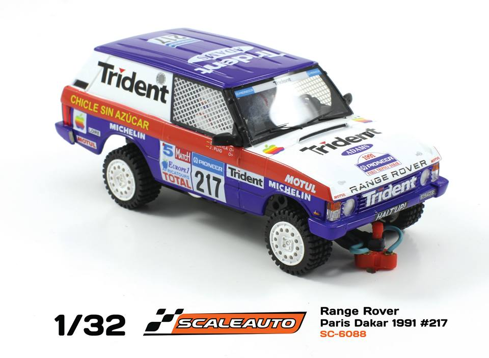 Scaleauto: le Range Rover Paris Dakar 1991 #217