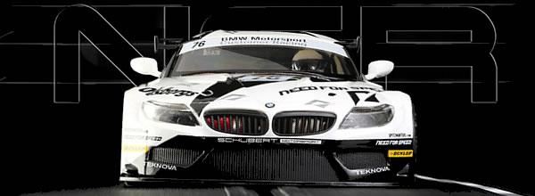 NSR:  La BMW Z4 Black / White FIA GT3 European Championship