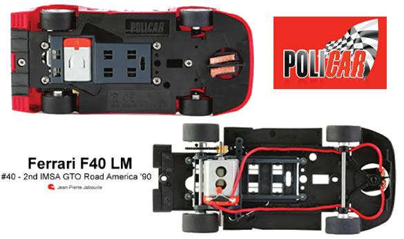 Policar : La F40 LM - #40 2nd IMSA GTO Road America 1990 CAR03a