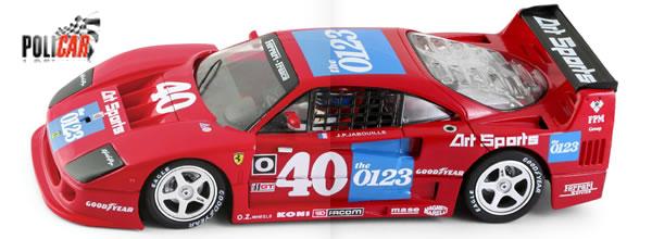 Policar : La F40 LM - #40 2nd IMSA GTO Road America 1990 arrive
