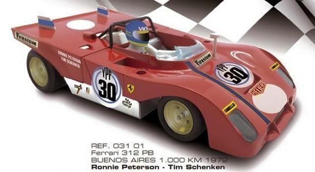 SRC-REF: 03101 - Ferrari 312 PB 1000 kms Buenos Aires 1972 Ronnie Peterson - Tim Schenken.