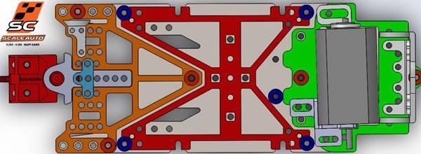 Scaleauto: une nouvelle gamme de châssis au 1/24 pour le slot