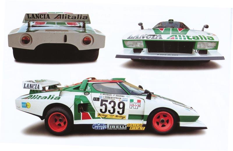 Sideways: la Lancia Stratos Gr5 dévoilée