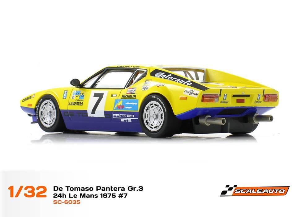 Scaleauto: la De Tomaso Pantera 24h du Mans 1975 #7