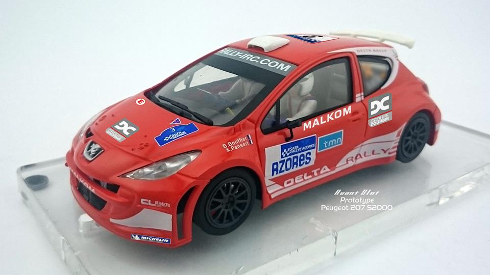 Avant Slot - Peugeot 207 Super 2000