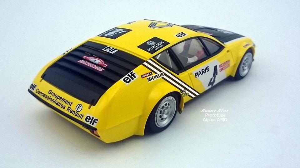 Avant Slot Alpine A310 Rallye Monte-Carlo 1976