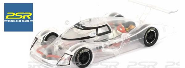 """Slot it: L' Audi R8C """"X-Ray"""" transparente en vente"""