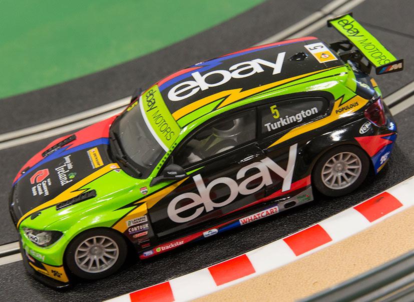 BMW 125 Série 1 (C3694A) (Ebay) de Colin Turkington qui a remporté le championnat en 2014
