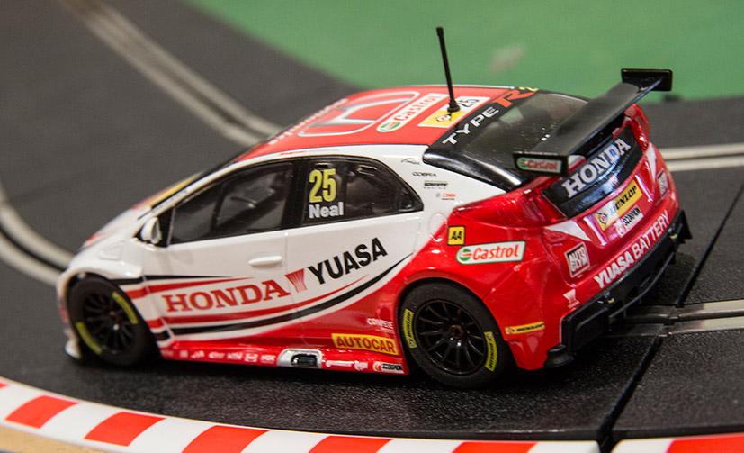 Honda Civic Type R (C3734) de Matt Neal pour l'écurie Honda Yuasa Racing 2014