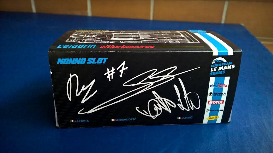 NonnoSlot: la Ligier JS P3 Villorba Corse pour le slot