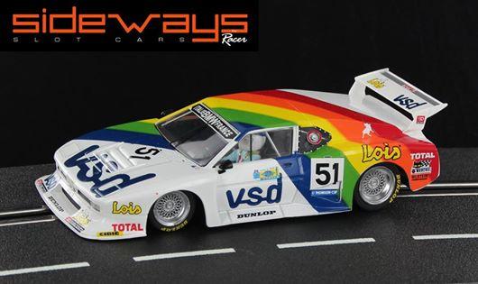 SIDEWAYS SW39 SAUBER BMW M1 GR.5 Team Italie-France Le Mans 24hrs 1981 - VSD